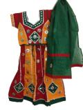 Dandiya Outfit, Traditional Colorful Chaniya Choli for Kids