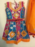 Traditional Cotton Chaniya choli, girls garba outfits (GL1504)