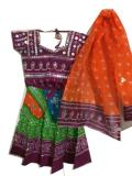 Kids Navratri Dress, Cotton Chaniya Choli for Garba