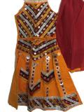 Kids Navratri Outfit, Halter Neck Cotton Chaniya Choli (GL2102)